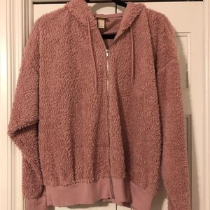 Fuzzy sweater